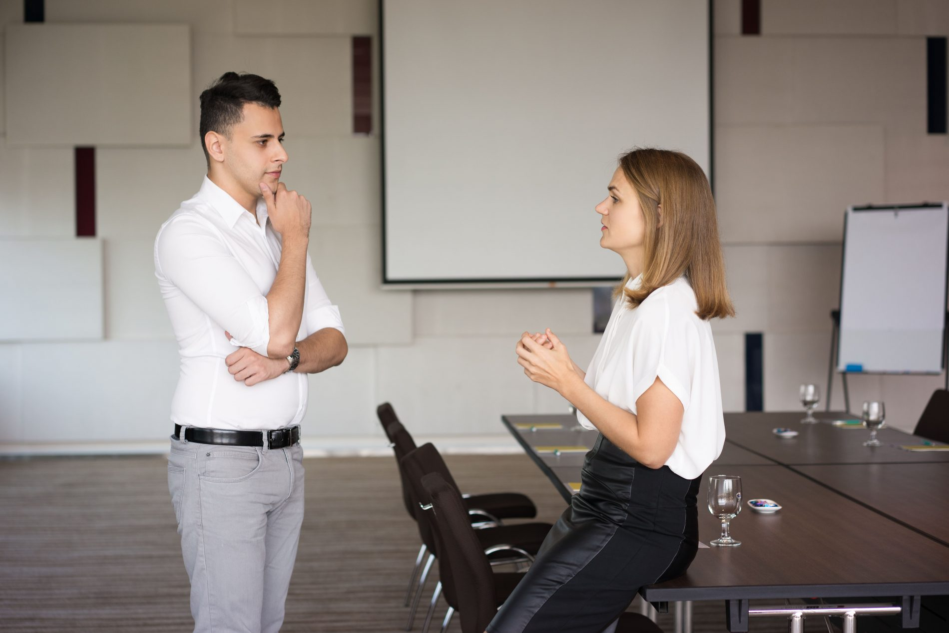 Handling difficult conversations at work: the four golden rules